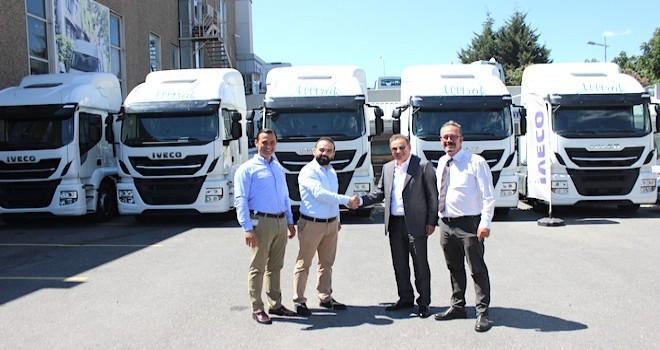 IVECO'dan Alltrak Taşımacılık'a 5 adet Stralis