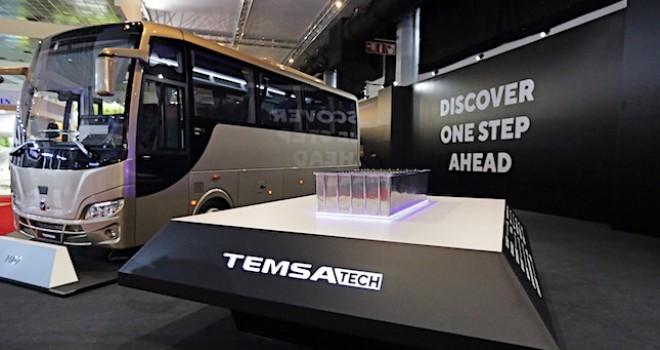 TEMSA, Busworld Fuarı'nda 5 aracını ve Batterypack ürününü tanıttı