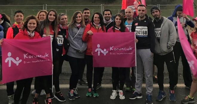 Sertrans Logistics, İstanbul Maratonu'nda iyilik için koştu