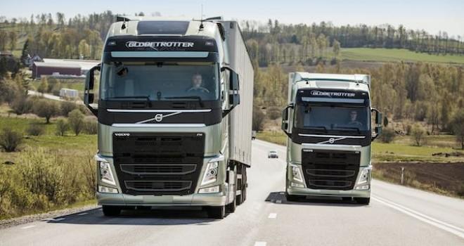 Volvo Trucks'tan 6 farklı frigorifik firmasına 13 adet Volvo FH