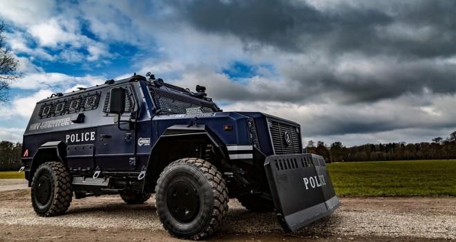 Hamburg Polisi, Allison şanzıman donanımlı özel zırhlı araçları tercih ediyor