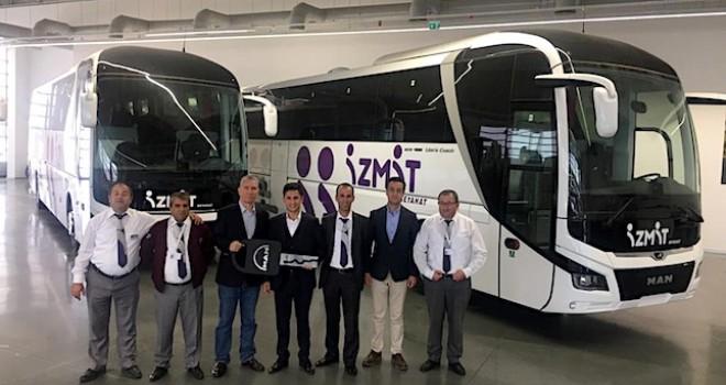 MAN, 3 firmaya 5 adet Lion's Coach otobüs teslim etti