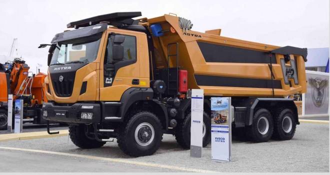 IVECO, Bauma 2019'da inşaat araçlarını sergiledi