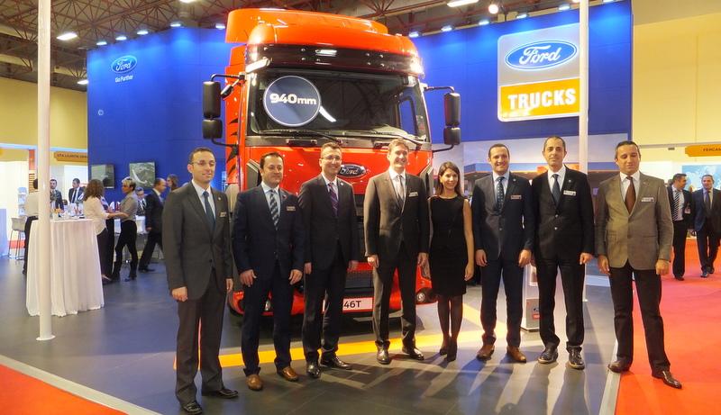 Ford Trucks Uluslararası nakliye pazarına odaklandı