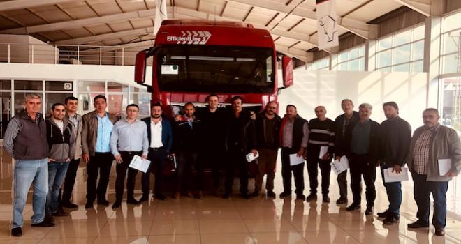 MAN Konya'da müşterilerine ve şoförlere Ekonomik Sürüş Eğitimi verdi