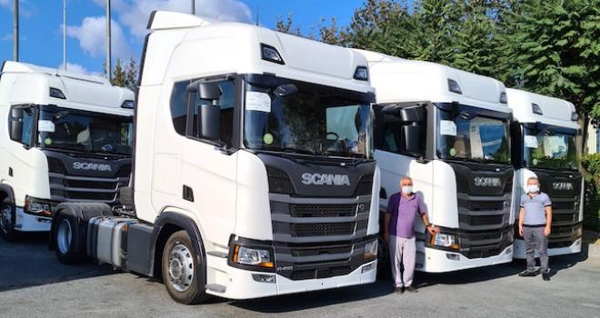 Doğan Taşımacılık'a 6 adet Scania