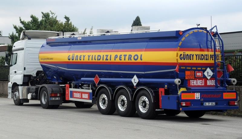 Güney Yıldızı Petrol'e 5 adet tanker semi-treyler teslim etti