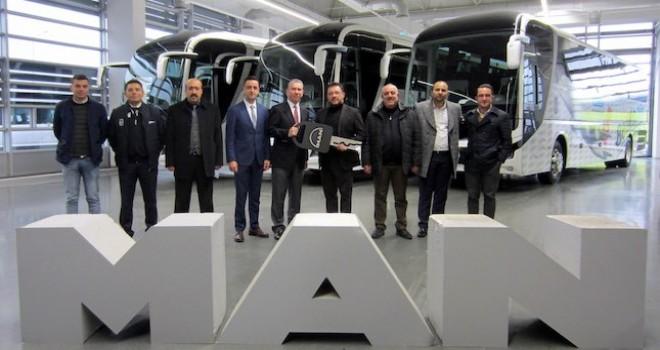 MAN'dan BelKo Air ve Altur'a Lion's Coach teslimatı