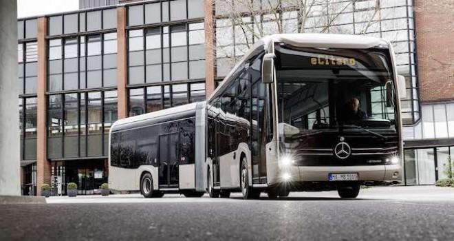 Mercedes-Benz'in elektrikli körüklü otobüsü eCitaro'nun Ar-Ge'si Türkiye'de yapıldı
