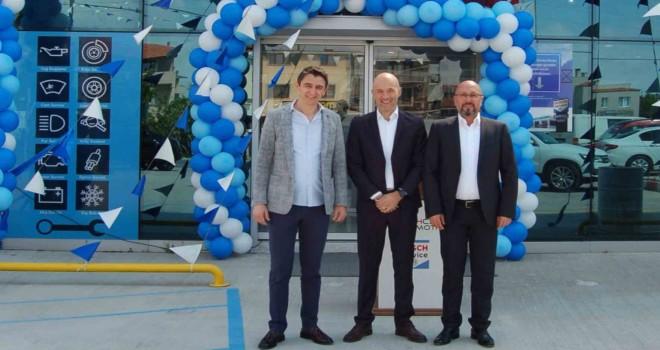 TechCar Otomotiv, Urla'da Bosch Car Service noktasını hizmete açtı