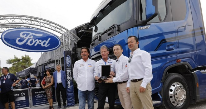 Ford Trucks'ın yeni çekicisi M-Sport'un hizmetinde