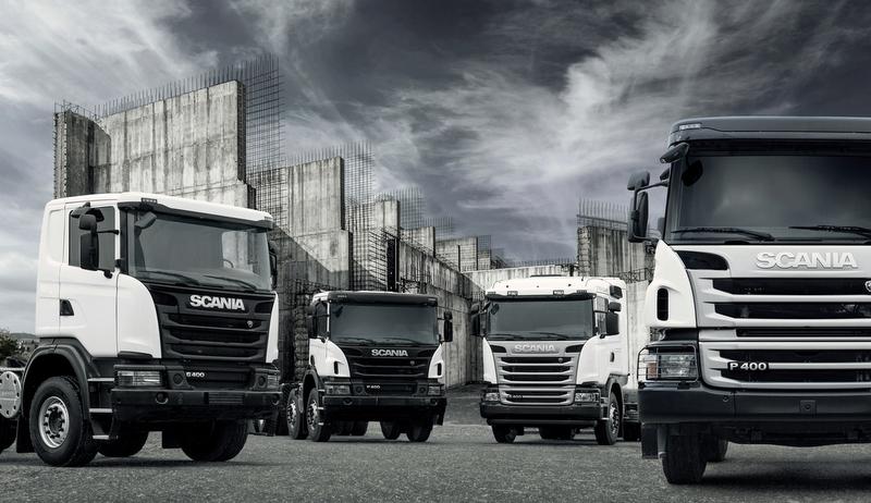 İşte Scania'nın yeni inşaat serisi araçları…
