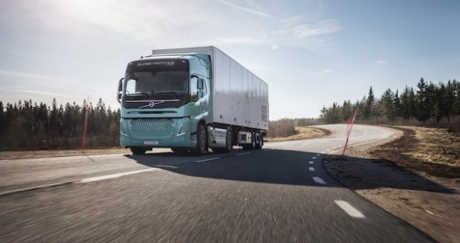 Volvo Trucks elektrikli konsept kamyonlarını tanıttı