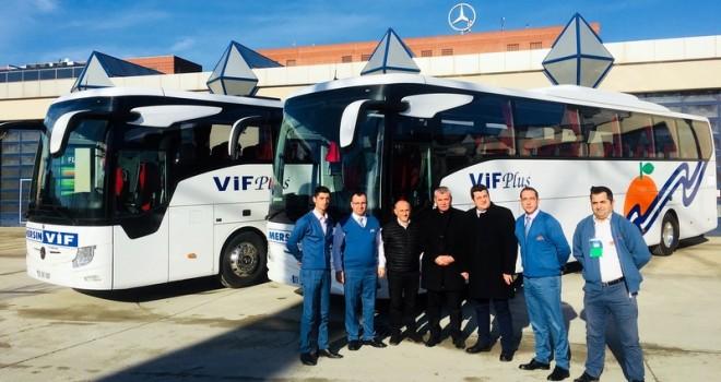 Mercedes-Benz Türk, 1 haftada 5 adet otobüs teslim etti
