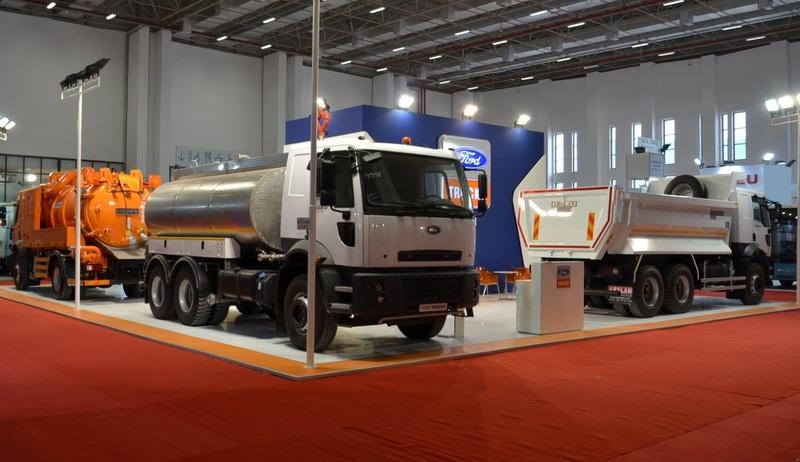 Ford Trucks, İzmir Kent Expo'da geniş ürün gamı ile yerini aldı