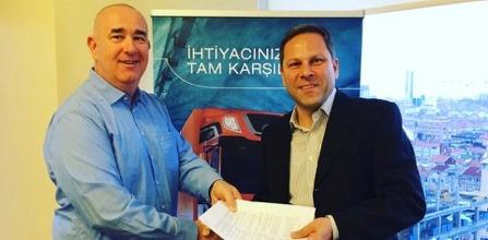 DAF Turkey önemli bir işbirliğine imza attı