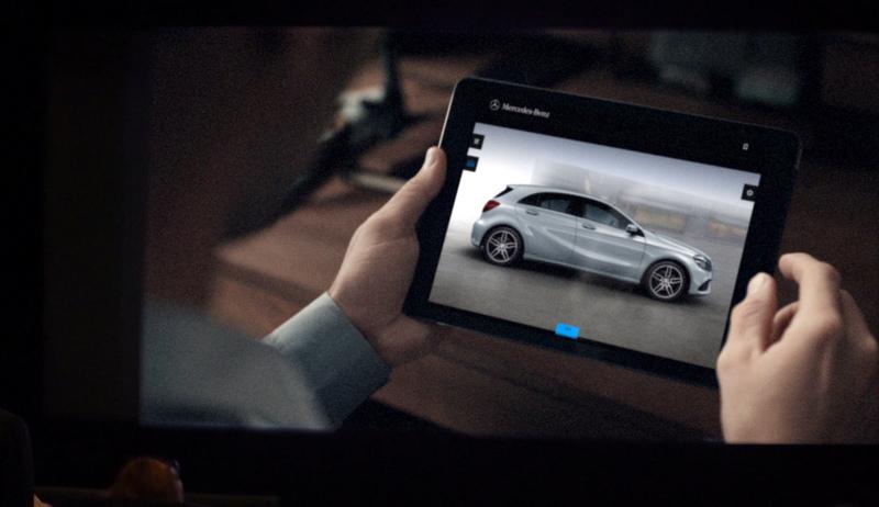 Türkiye'nin ilk 4 boyutlu reklam filmi Mercedes-Benz Türk'ten (VİDEO HABER)