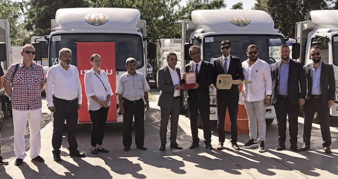 Tarım Kredi Kooperatifleri'ne 8 adet Anadolu Isuzu kamyonet