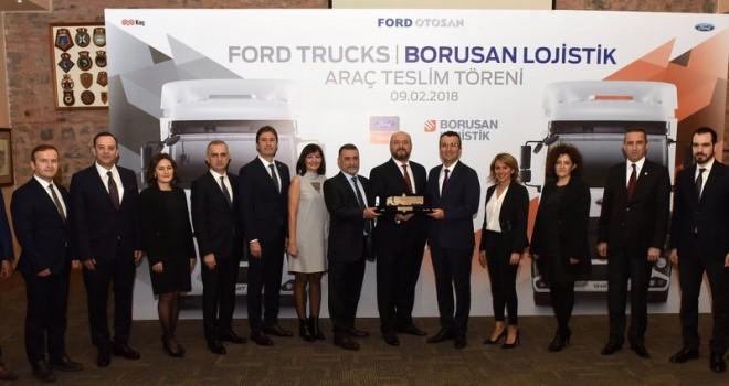 Borusan Lojistik, filosuna 19 adet Ford Trucks kattı
