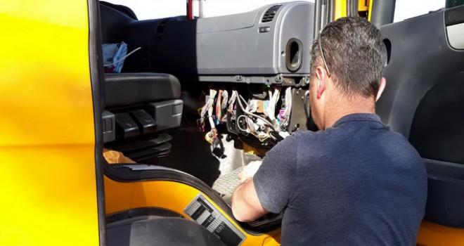 Scania-Doğuş'tan 4 bin 500 kilometre uzaktaki aracın arızasını gideren operasyon