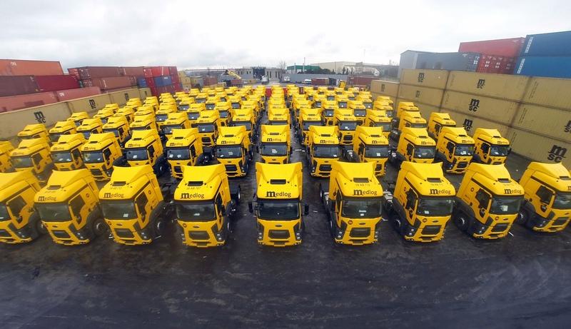 250 adet Ford Cargo 1846T aldı