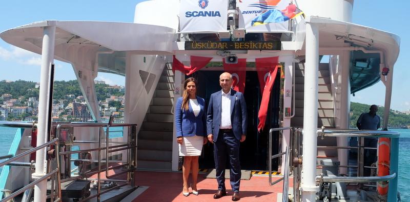 Dentur Avrasya, Scania Deniz Motorlarını Tercih Etti