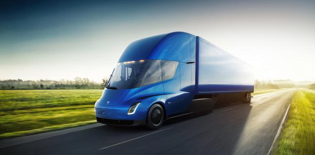 Dev lojistik firması 10 adet Tesla Elektrikli Kamyon siparişi verdi