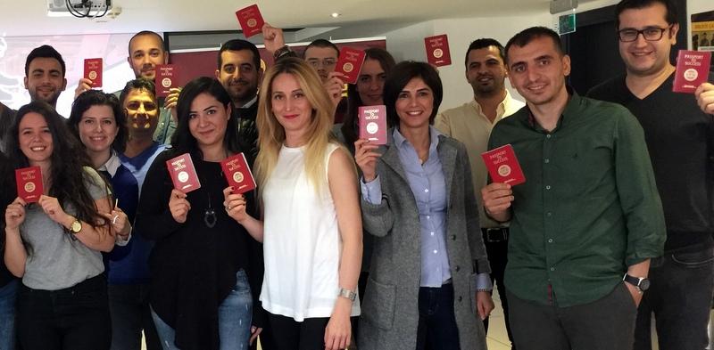 """DHL Freight Türkiye çalışanlarına """"Kırmızı Pasaport"""""""