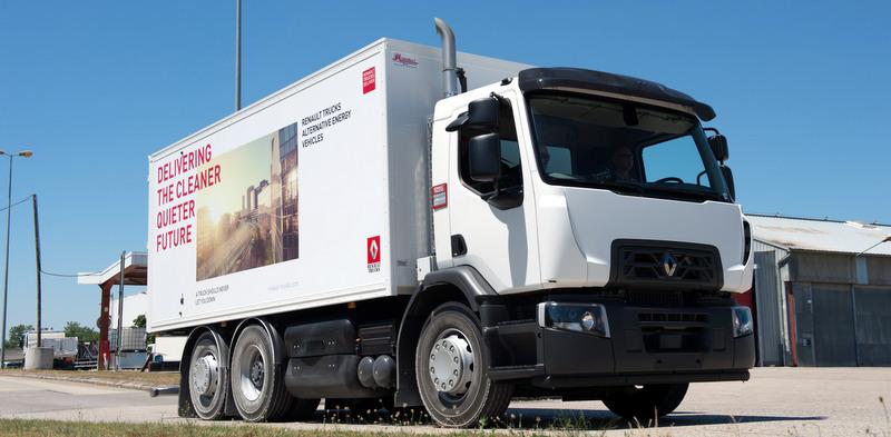 Doğalgazla çalışan kamyonlarını Paris'te sergileyecek