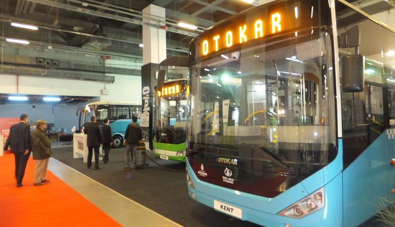 Otokar, Transist 2015'te gözde otobüslerini sergiliyor