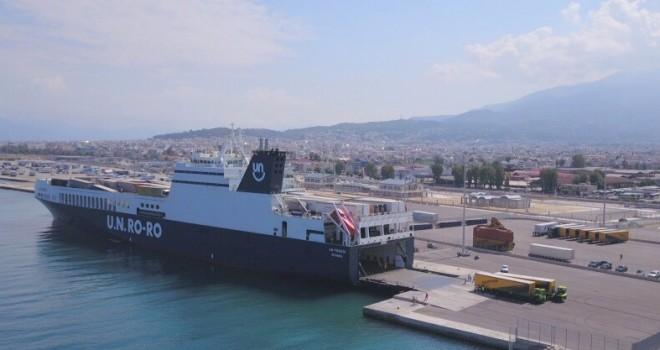 UN Ro-Ro Yunanistan seferlerine başladı