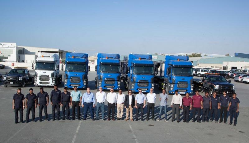 Ford Trucks, Dubai'de Arap müşterileri ile buluştu
