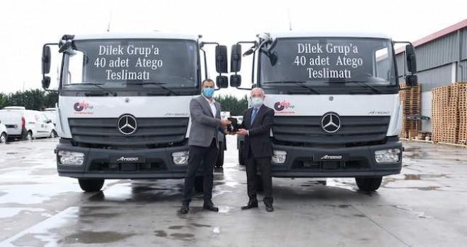 Dilek Grup'a 40 adet Mercedes-Benz Atego