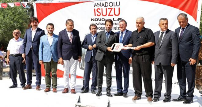 82 adet Isuzu Novociti Life midibüsün 23 adedi teslim edildi