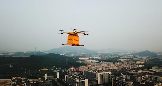 DHL Express, drone ile teslimat süresini 40 dakikadan 8 dakikaya indirdi