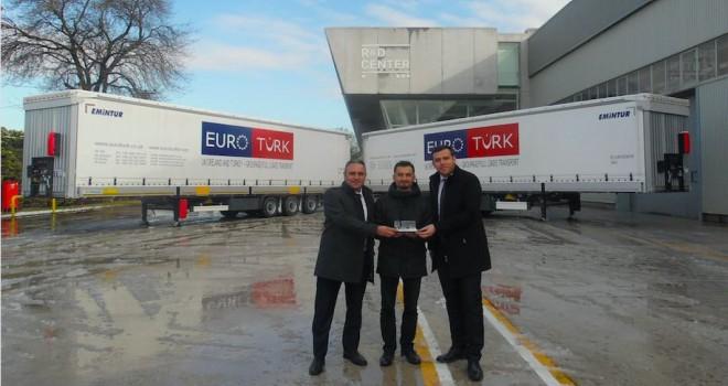 Tırsan'dan EuroTürk Lojistik'e 12 adet treyler