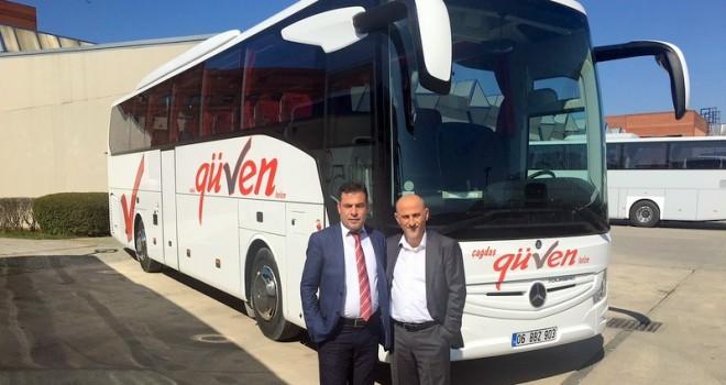 2 adet Tourismo ve 2 adet Conecto otobüs teslim etti