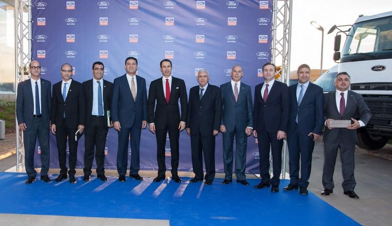Ford Trucks, Kuzey Afrika pazarına yönelik büyük projelerin ilk adımını attı