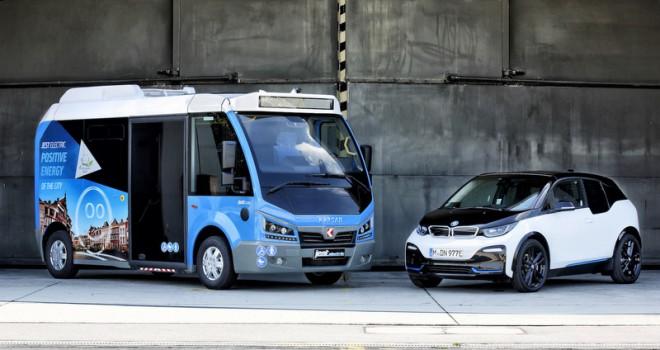 BMW Mühendisleri, Elektrikli Karsan Jest'i Test Etti