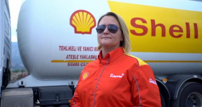 Türkiye'nin İlk Kadın LPG Tankeri Sürücüsü Görevine Başladı