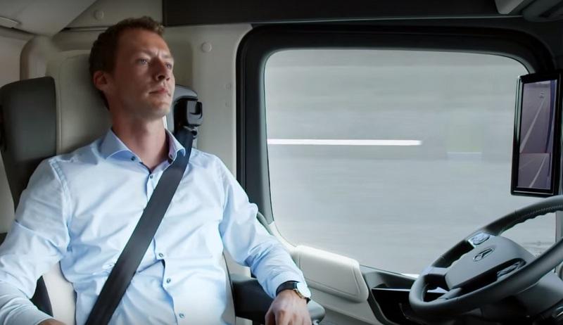 2025'te bir şoför kamyonu böyle sürecek! (VİDEO HABER)