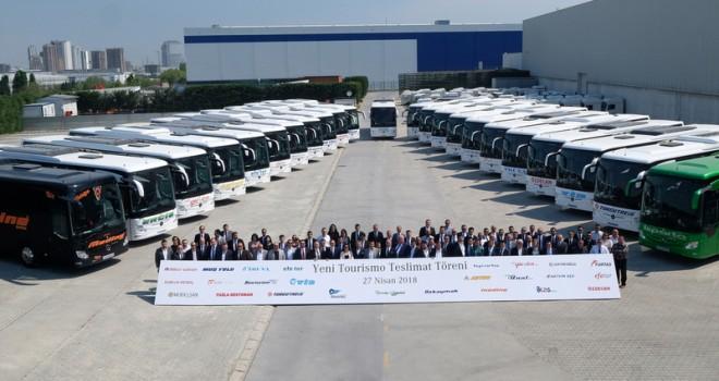 26 farklı firmaya 55 adet yeni Tourismo teslim etti