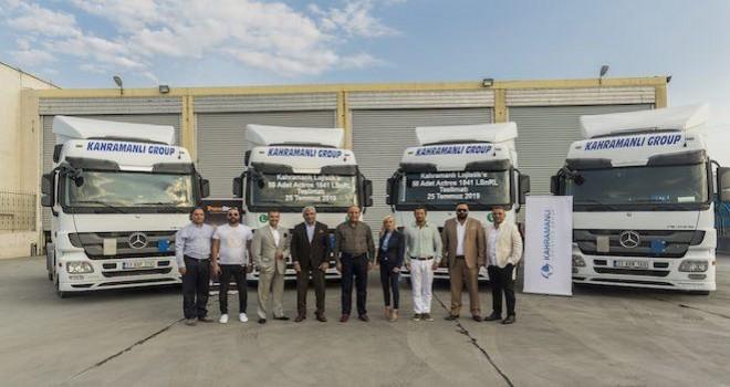 Kahramanlı Uluslararası Nakliyat, TruckStore'dan 50 adet Actros aldı