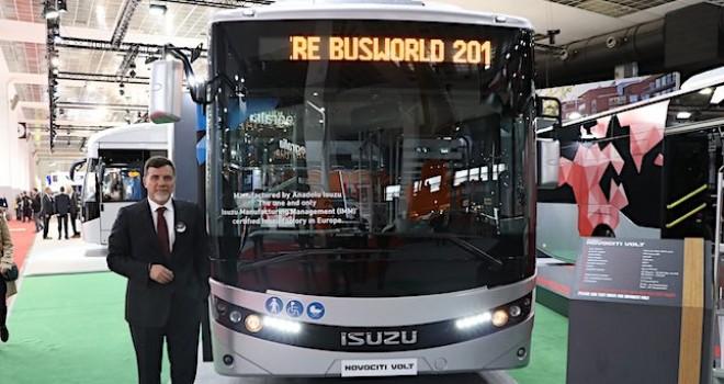 Anadolu Isuzu Busworld Fuarı'nda çevreci araçlarını sergiledi
