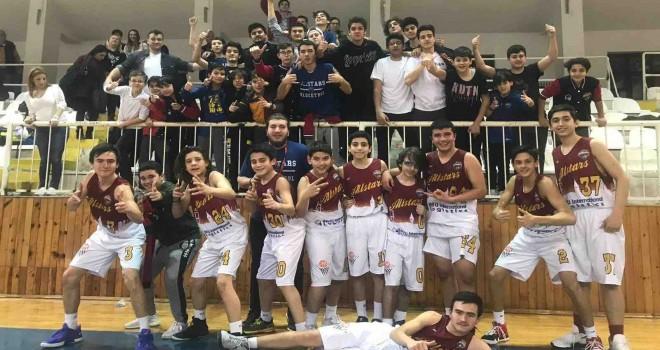 Batu International Logistics'in desteklediği AllStars İstanbul Basketbol U-14 Takımı, İstanbul Şampiyonu oldu