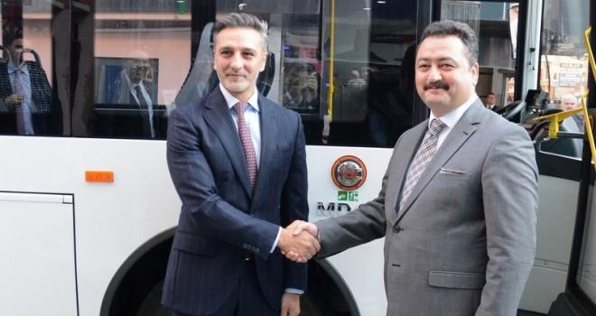 180 Adet Elektrikli Otobüs Alacak Temsa Ile Görüşmelere Başladı