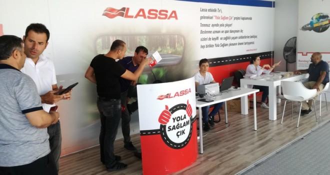32 günde 18 ili gezen Lassa, 2 bin 372 uzun yol şoförüne ulaştı