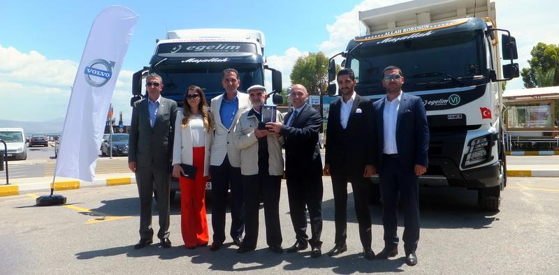 Ege Bölgesi'nin lojistik devi 42 adet Volvo Trucks aldı