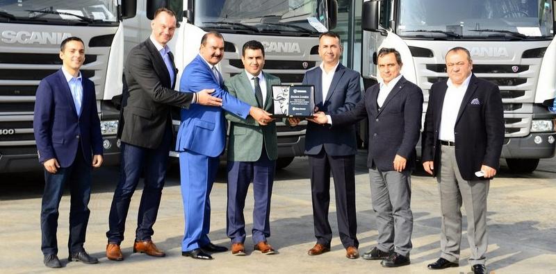 Egeli nakliyeci 13 adet Scania aldı