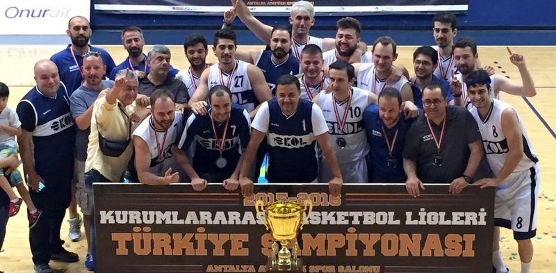 Ekol Lojistik, Türkiye Basketbol Şampiyonu Oldu